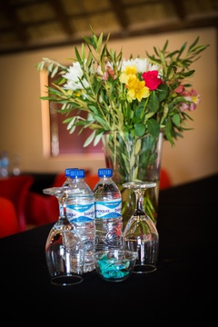 Fine detail to make our delegates feel special.